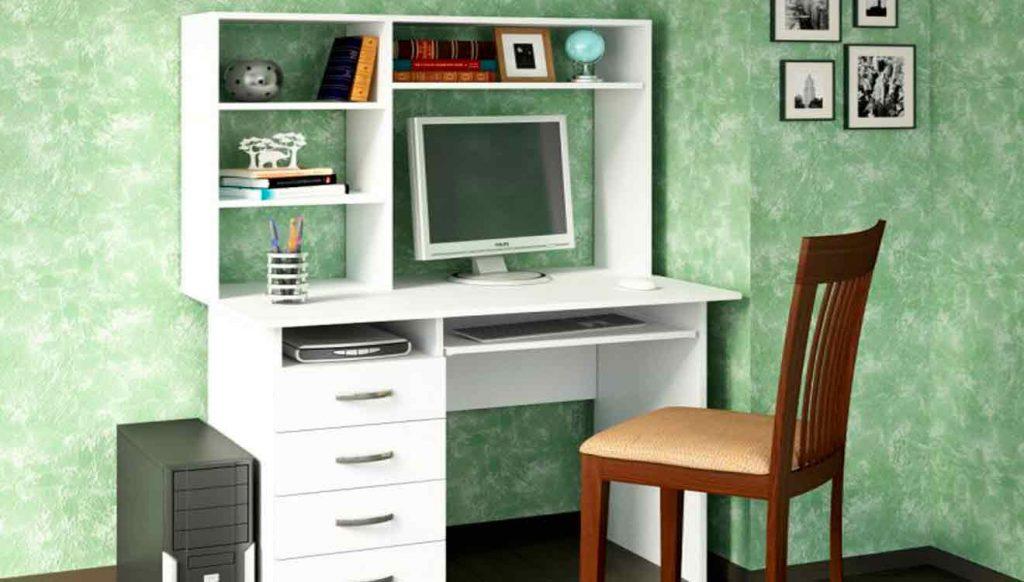 Письменный стол с надстройкой