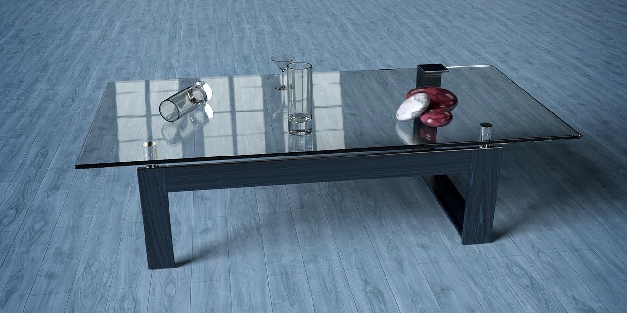 Стол письменный стеклянный