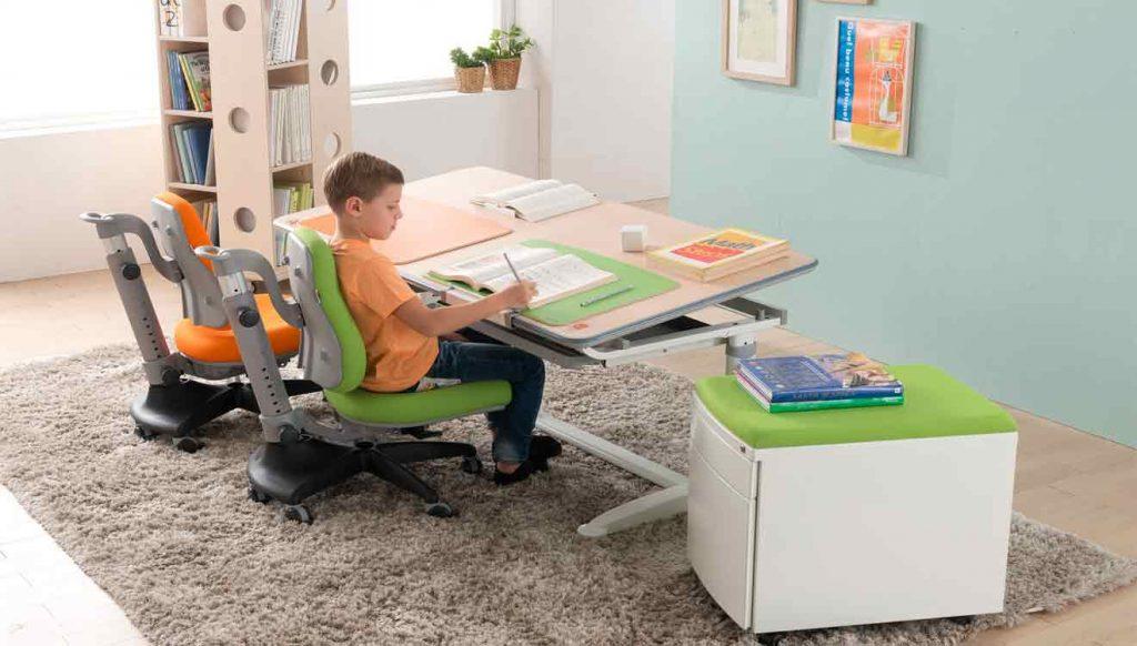 Стол письменный трансформер для двоих детей