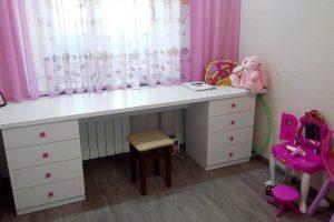 детский письменный стол для девочки