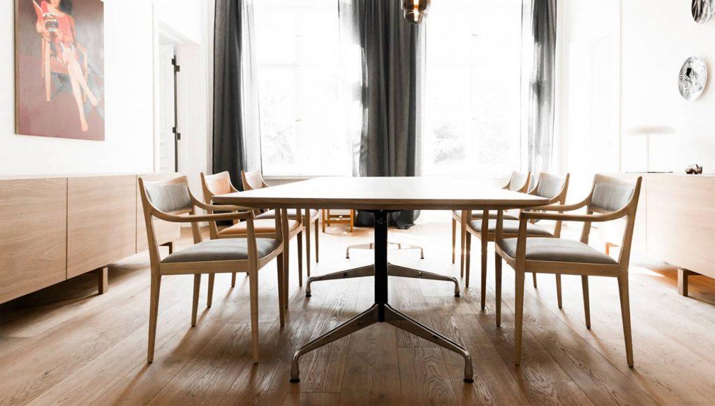 Обеденный стол в стиле лофт Берлин