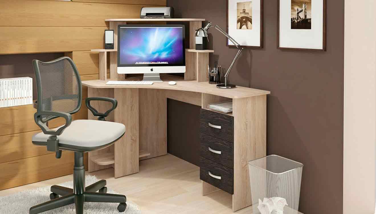 Офисный угловой компьютерный стол