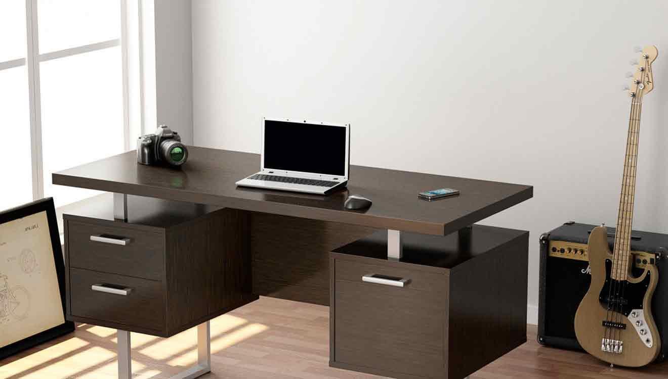 Стол для компьютера в стиле лофт