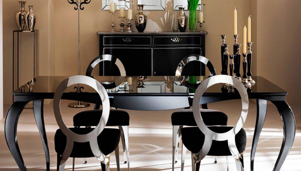 Стол обеденный в стиле арт деко