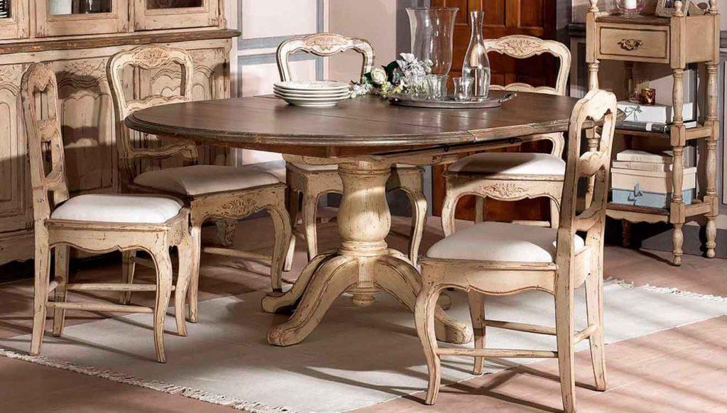 Стол обеденный в стиле прованс