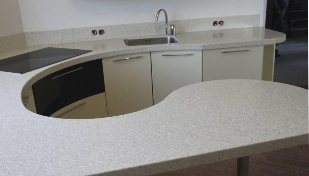 Ламинированная кухонная столешница