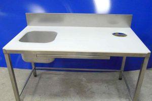 Стол разделочный для кухни полипропилен.