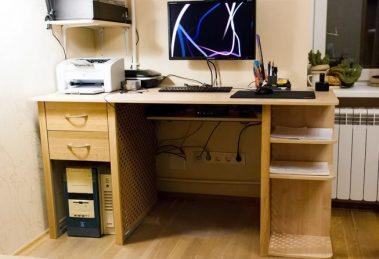 Компьютерный стол своими руками